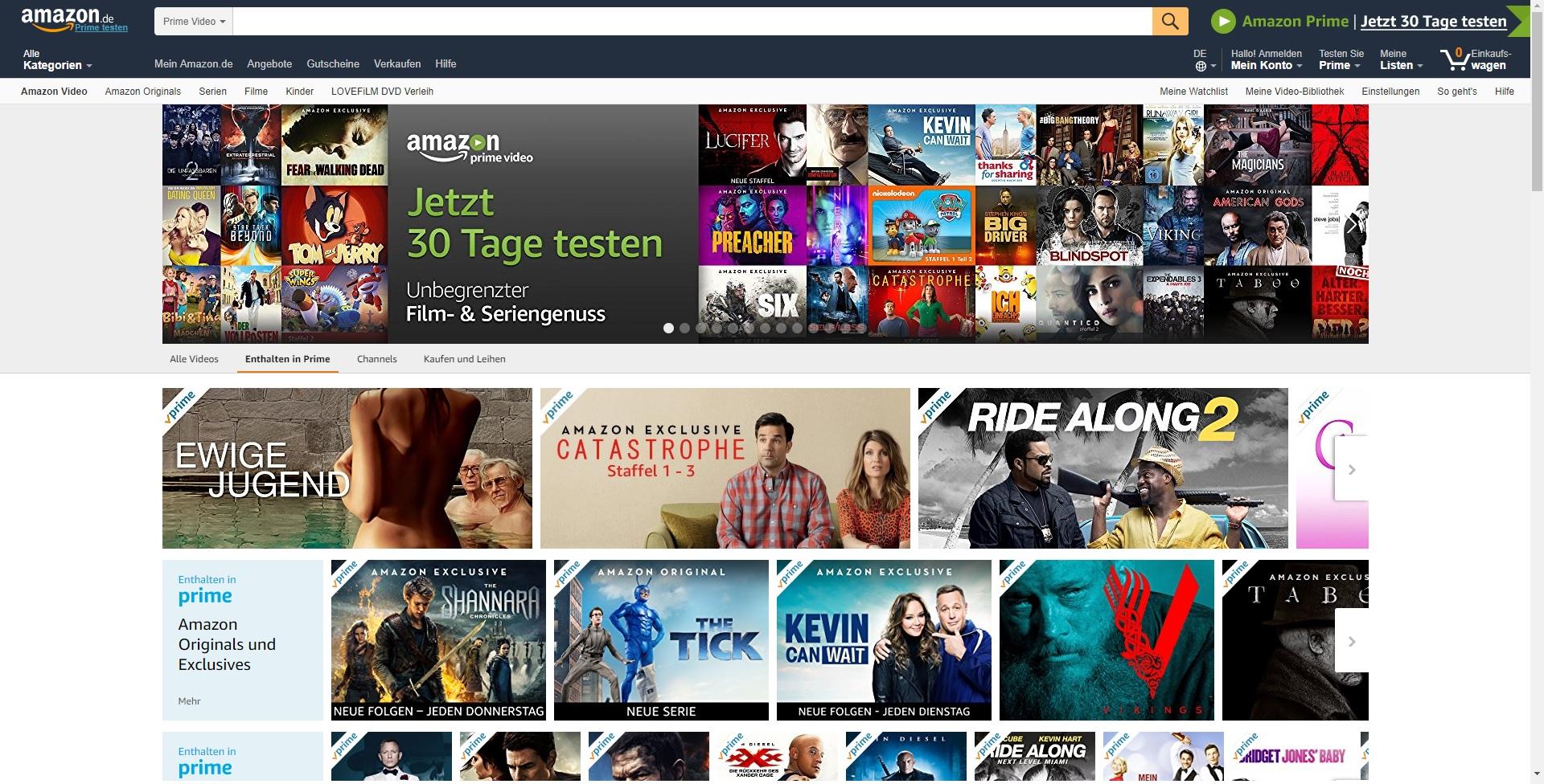 Singlebörsen: Amazon